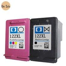 2PK Для hp122 122XL Чернильный Картридж для hp 122 122XL Чернила для HP Deskjet 1050A 1000 2000 2050 2050A 3000 3050 3050A 1510 Принтер