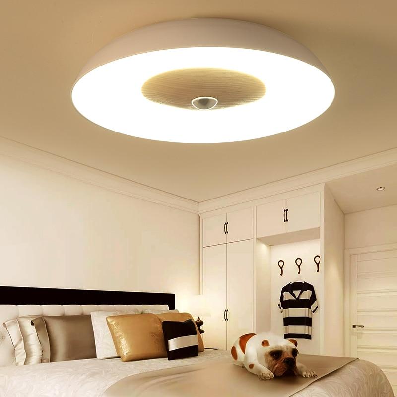 led Ceiling light Nordic modern minimalist living room lamp bedroom lamp Japanese wood creative restaurant led lamp