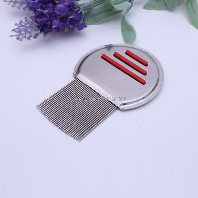 1 Lice Comb Treatment Professional Stainless Steel Louse Nit FREE Comb for Head Treatment Removes Head Lice & Nits Eggs Easily מסרק כינים