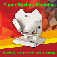 Automatic Paper Sorting Machine High Speed Shaking Machine Blow Paper Remove Paper Scraps And Static Electricity