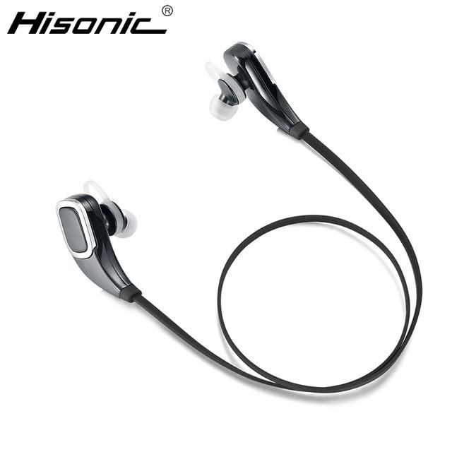 Fones de Ouvido Bluetooth Sem Fio Fone de Ouvido Fones de Ouvido fone de Ouvido Estéreo Com Microfone Hisonic Para iPhone6/6 s fone de ouvido Bluetooth