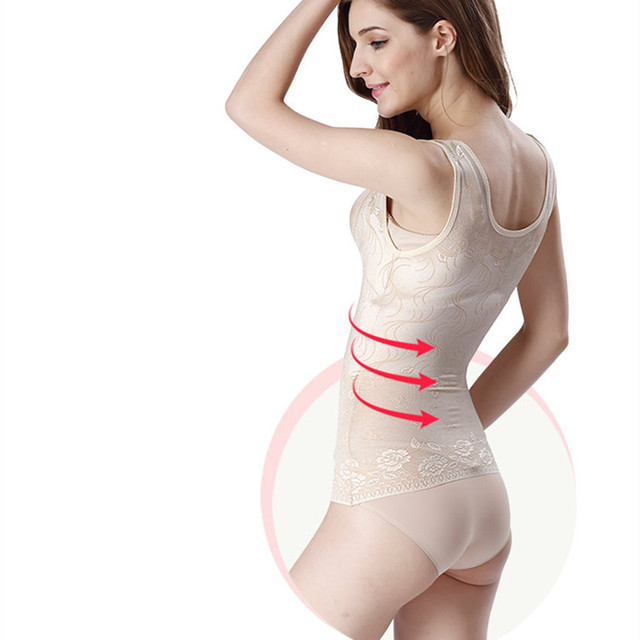 ABYABYGO Women Summer Thin Body Shapers Shaping Slim Underwear Waist Corsets Butt Lifter Sculpting Breathable Shapwear Tops