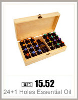 25 Compartment Essential Oil Storage Box Wood Box Oil Bottle