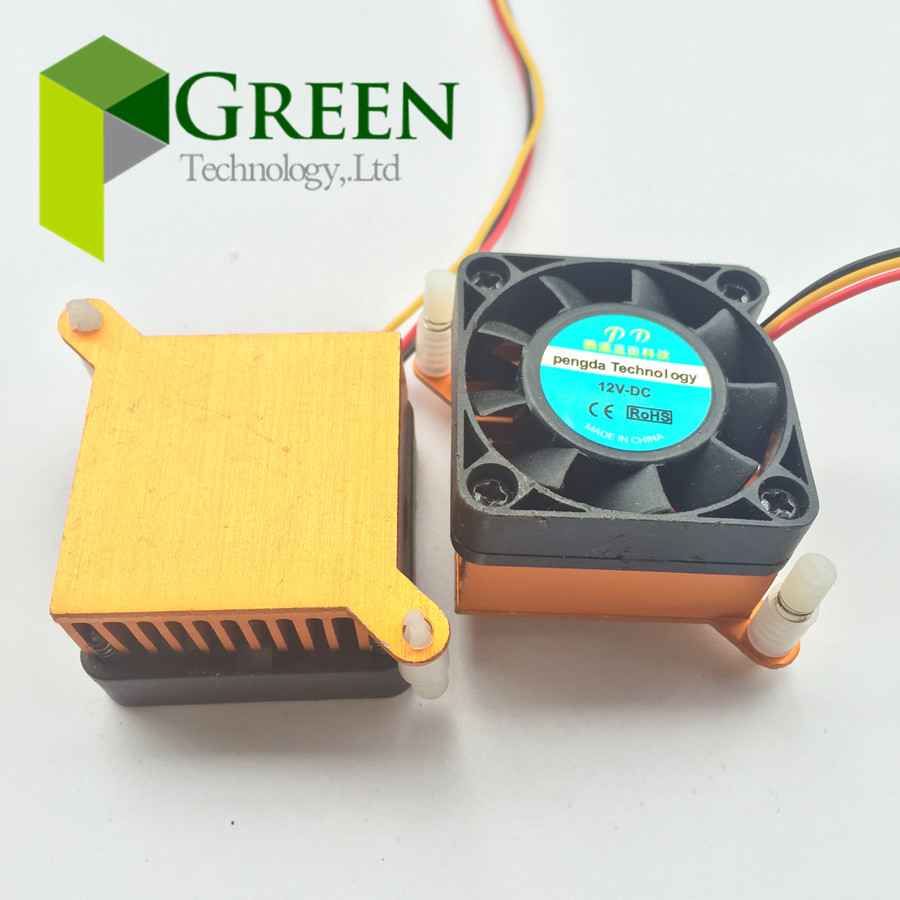 NEW DC <font><b>5V</b></font> 12V 24V 2Pin 3pin 4010 BGA Ball bearing <font><b>fan</b></font> Graphics Card <font><b>Fan</b></font> with Heat sink <font><b>Cooler</b></font> 40mm 40x40x10mm 4010 Cooling <font><b>Fan</b></font> image
