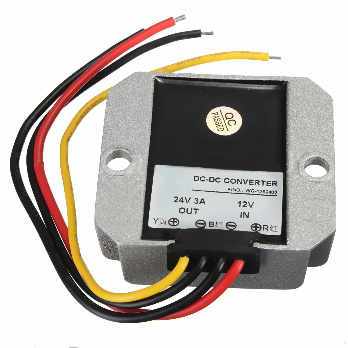 все цены на DC-DC 12V Step Up to 24V 3A 72W Car Power Converter Regulator онлайн