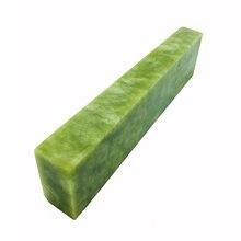 (Polishing) natural green Oilstone knives knife sharpener Oil/water whetstone 100*50*25mm grinder stone 10000#
