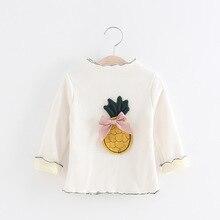 Kids Children Autumn Baby Long Sleeved T-shirt Cotton Shirt Coat Girls All-match Wholesale