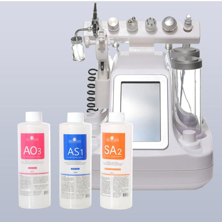 Aqua Serum Aqua Peeling Solution High Moisture Use For Hydra Dermabrasion Machine 400ml Per Bottle For Bubble Machine