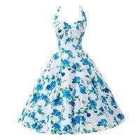 Belle Poque Vintage Dresses 50s 60s Plus Size Clothing 2017 Party Robe Vintage Retro Rockabilly Floral