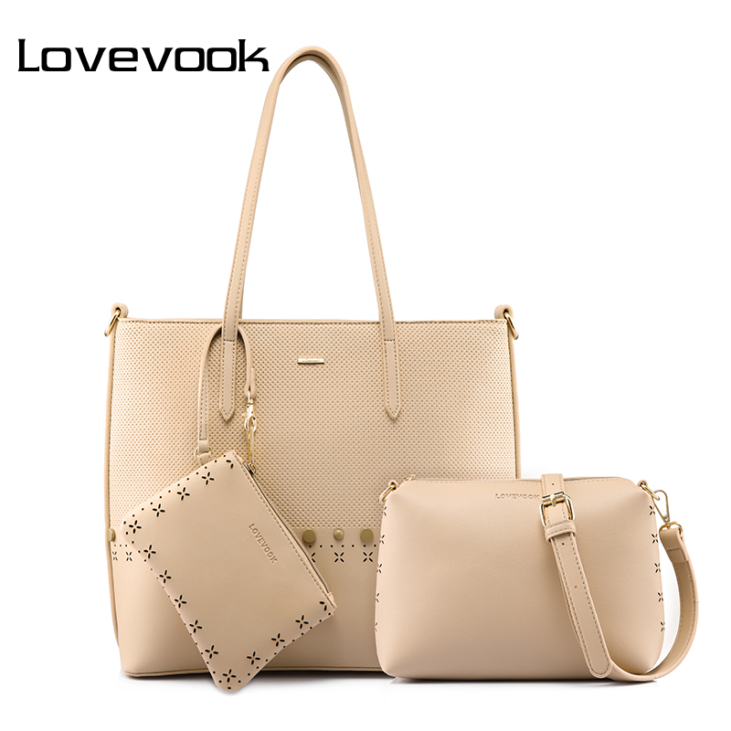 LOVEVOOK handbag women shoulder crossbody bag female messenger bags ladies handbags with large capacity purse high quality 2018 lovevook shoulder messenger bags for women crossbody bag pu female small handbag and purse with tassel fashion zippers designer