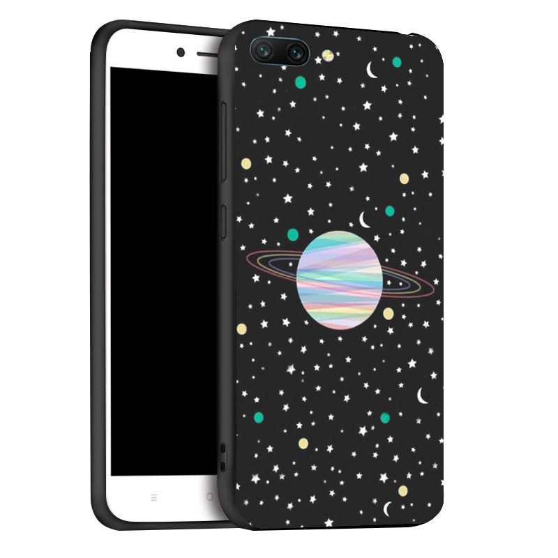 Huawei Honor 10 Case Fashion Black Silicon Case For Honor 10 Cases Anti knock Phone Cover For Huawei Honor10 Covers in Fitted Cases from Cellphones Telecommunications