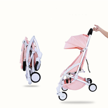 Lightweight folding baby Stroller 2 in 1 aluminum alloy can be on the airplane children baby pram super lightweight stroller can fold out in 2 positions in the set gift quality is beautiful