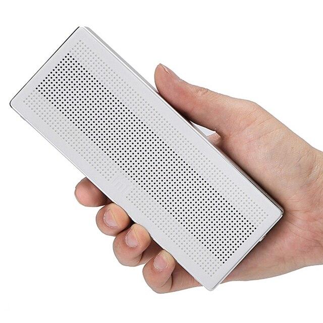 Original Xiaomi Mini Speaker Square Box Bluetooth 4.0+EDR HiFi Wireless Portable Stereo Handsfree For xiaomi tablet pc & phone
