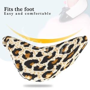 Soumit/1 пара вставных подушечек для передней части стопы для женщин на высоком каблуке с заглушкой для носка, полутуфли из губчатого материала, подушечки для ног, наполнителя, стельки для регулировки подушек