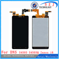 """Original 4.5"""" Inch For DNS S4503 S4503Q Innos i6 i6c LCD Display Touch Screen Digitizer Assembly KM0403 KM0404 Free shipping"""