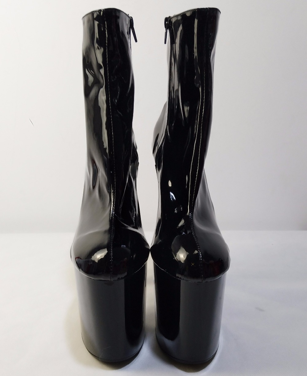 8023c55b0af5 8 Inch Sexy Ankle Boots 20cm High-Heeled Shoes Crystal Boots ...