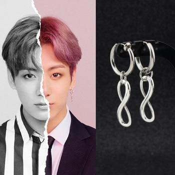 BTS Bangtan Boys Jungkook JK Infinity Earring