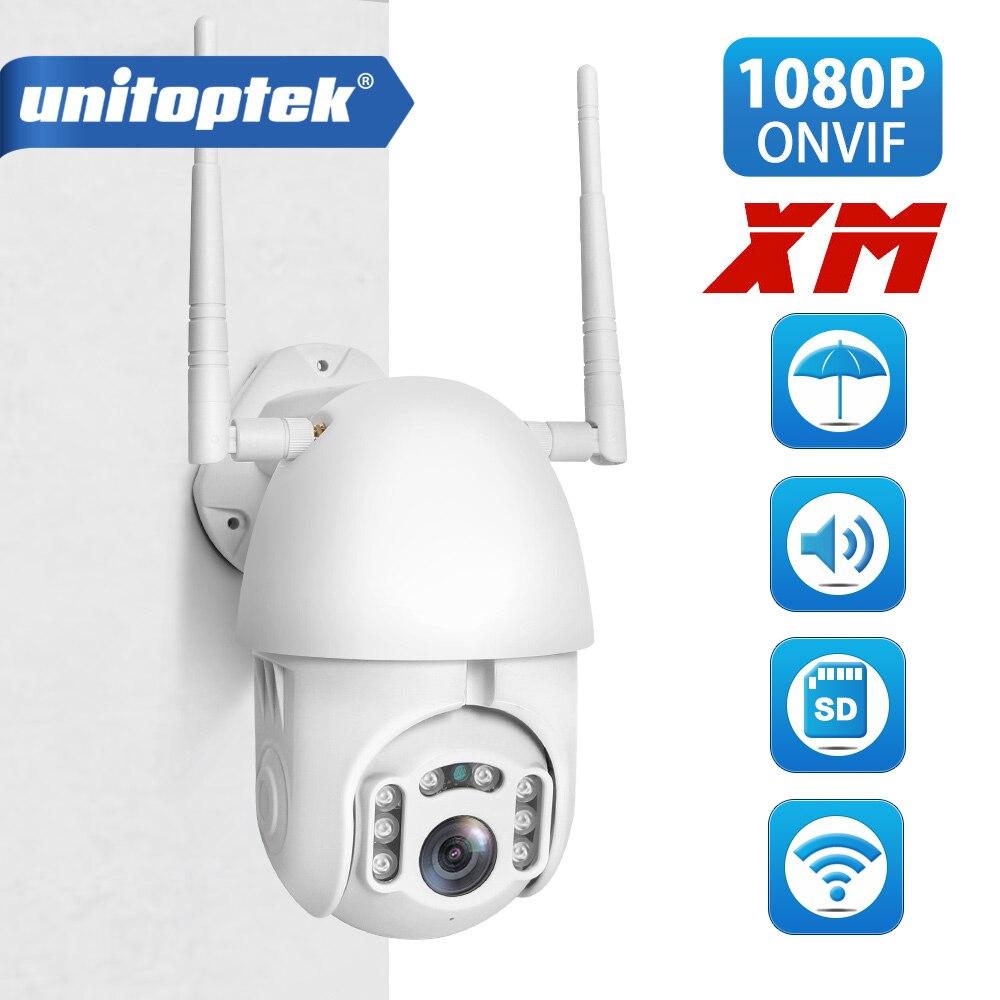 HD 1080 P WI-FI PTZ Speed Dome Câmera de Segurança CCTV Ao Ar Livre Câmera IP Sem Fio ONVIF 2MP IR Câmeras de Vigilância Em Casa p2P XMEye
