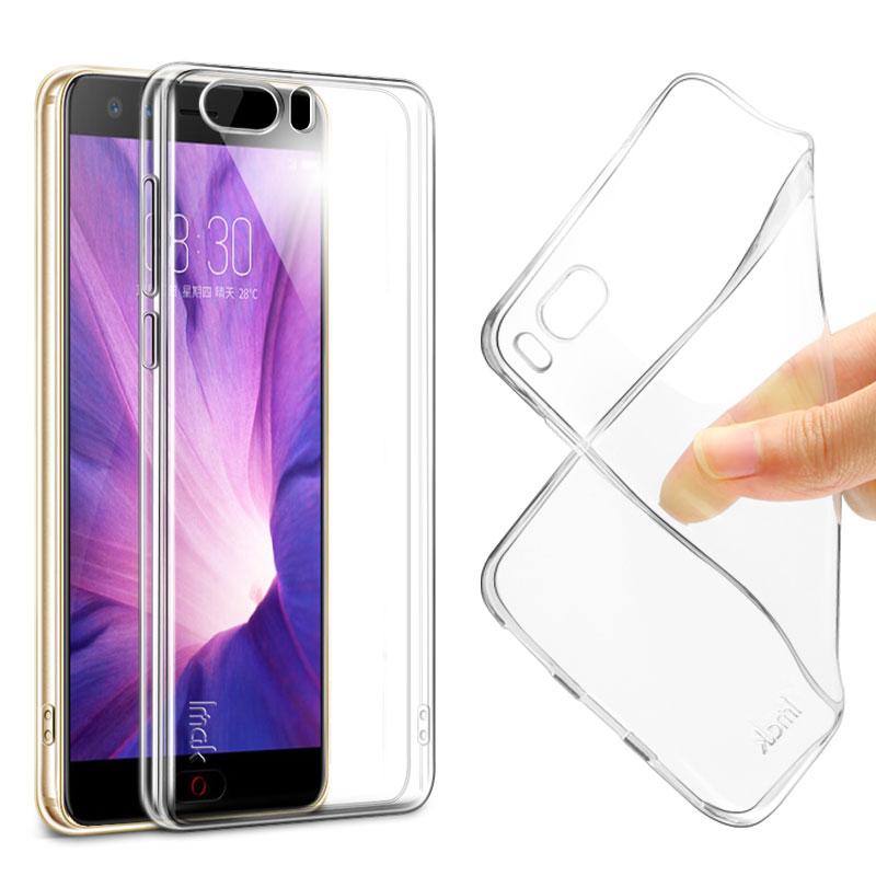 nubia Z17 mini S case iMAK Super-slim Stealth Soft Clear TPU Phone case For ZTE nubia Z17 miniS Bumper case + Screen Protector