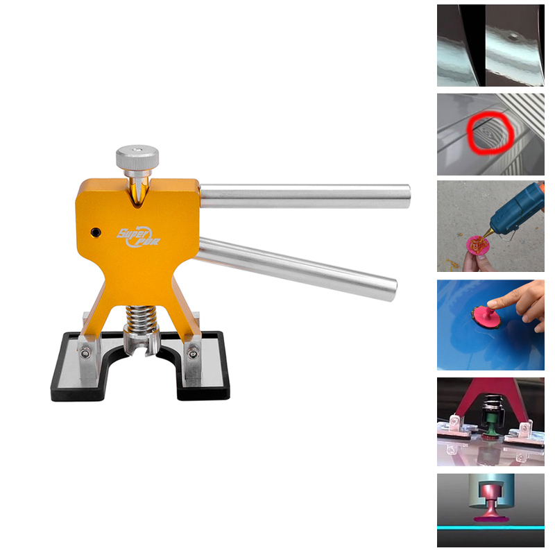 Super PDR Tools Professional Hand Sets High Quality Car Paintless Dent Repair