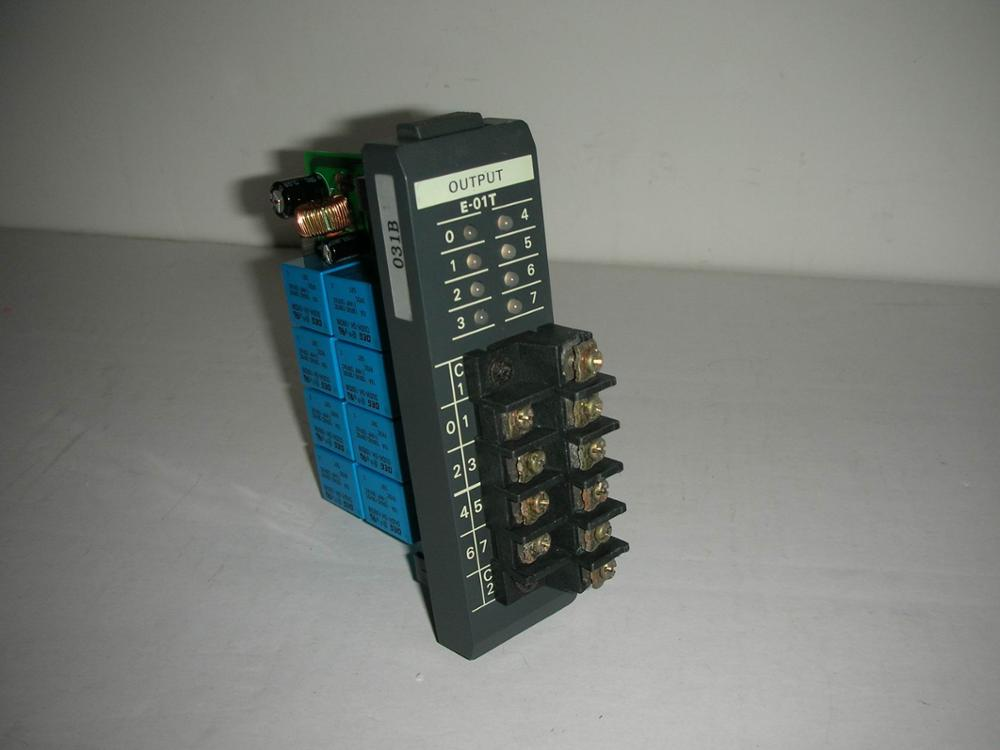 1PC USED Guangyang YOKO E-01T 1pc used plc u 01t koyo