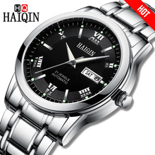HAIQIN Men Watch Top Brand Luxury Automatic Mechanical Watch Men Full Steel Business Waterproof Sport Watches Relogio Masculino все цены