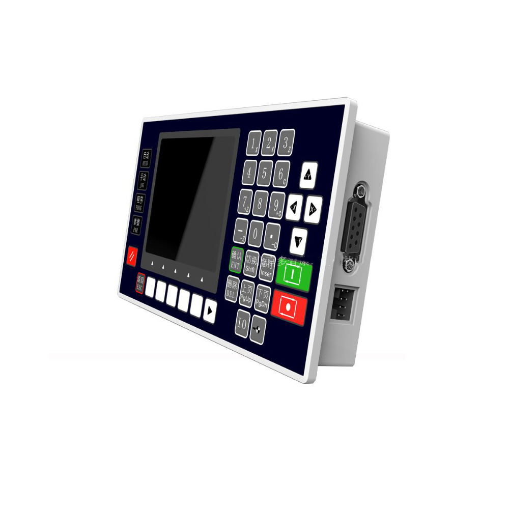 High Performance 1 Axis Controller 16DI 8DO 3.5inch TFT Interface RS485 Servo Stepper CNC for Lathe Milling Machine new cnc lathe 4 axis controller 3 5inch tft rs485 communication matching servo stepper cnc use for milling machine