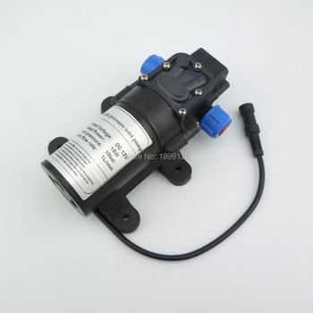 Электрический самовсасывающий насос высокого давления, 12 В 24 В, 1 л/мин, 15 Вт