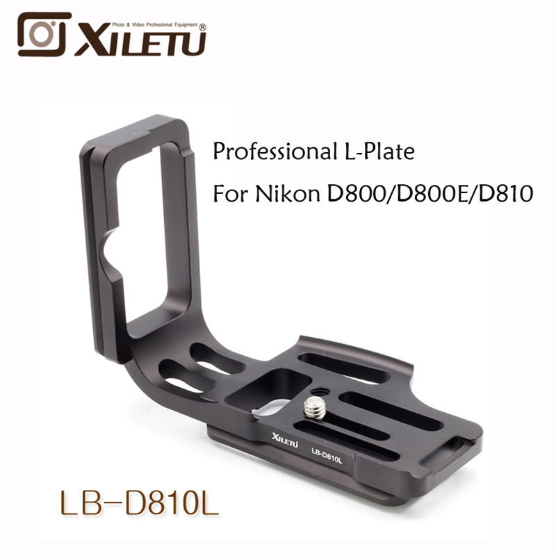 Xiletu LB-D810L Professional Quick Release Plate L Head For Nikon D800 D810 Arca Standard