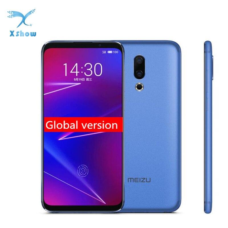 """Version mondiale Meizu 16 16X6 GB 128 GB Smartphone Snapdragon 710 Octa Core 6.0 """"2160x1080 20.0MP identification d'empreintes digitales téléphone Mobile-in Mobile Téléphones from Téléphones portables et télécommunications on AliExpress - 11.11_Double 11_Singles' Day 1"""