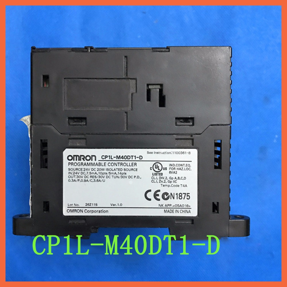 M40dt1 d used original cp1l m40dt1 d cp1l plc cpu for omron sysmac