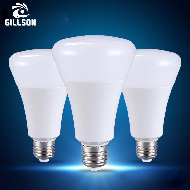 GILLSON Bright E27 LED Bulb Lamp 5W 7W Light Bulb Cold white/Warm White Lampada Energy Saving Bubble Lamp AC220 Bedroom Lighting 0 5w 70lm white light stainless steel solar energy powered lamp silver