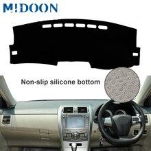 Для Toyota Corolla Axio 2007 2008 2009 2010 2011 2012 2013 Чехлы для стайлинга автомобиля коврик для приборной панели солнцезащитный коврик для приборной панели