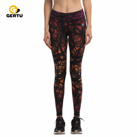 Nueva llegada starry sky impreso mujer leggings deportivos absorber el sudor de las mujeres de fitness jeggings legging atractivo de la manera
