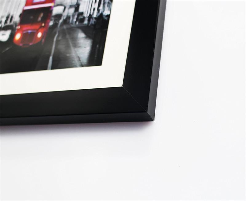 Marcos para cuadros blanco y negro a cuadros 8x10 con estera o 11x14 ...