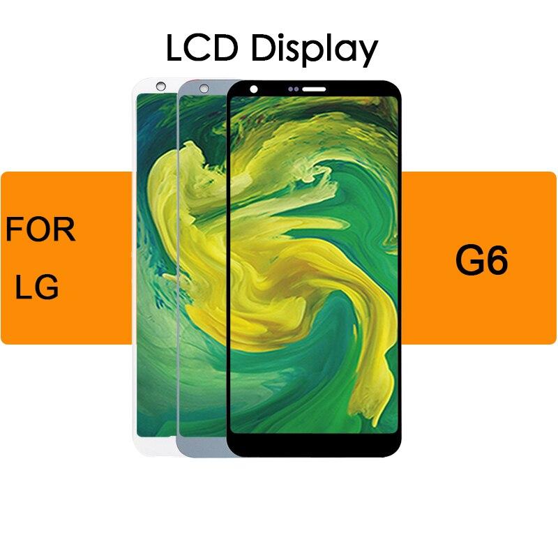5.7 pouces pour LG G6 LCD écran tactile numériseur remplacement écran H870 LCD affichage pour LG G6 LCD pièces