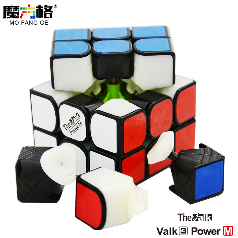 цена Qiyi Mofangge Valk3 Power M 3x3x3 Magic Cube 3layer Speed Valk 3 Cubo Magico Professional Funny Toys For Children онлайн в 2017 году
