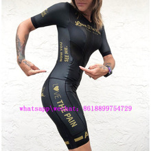 2019 Love The Pain summer women bicycle skinsuit roupa de ciclismo speedsuit MTB cycling triathlon outdoor sports wear jumpsuit