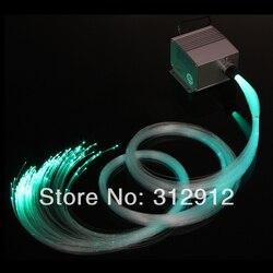 LED z włókna światłowodowe zestawy oświetleniowe  kolory RGB (LEB-321); 250*0.75mm * 3 m światłowodów PMMA; DIY led RGB zestawy oświetleniowe