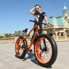 New Arrival 7 21 24 27 Speeds Disc Brakes Fat Bike 26 Inch 26x4 0 Fat
