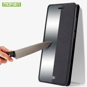Image 5 - עבור Huawei Honor 8X מקרה עבור Huawei 8X מקסימום מקרה כיסוי סיליקון יוקרה Flip עור Mofi עבור Huawei Honor 8X מקרה 360 עמיד הלם