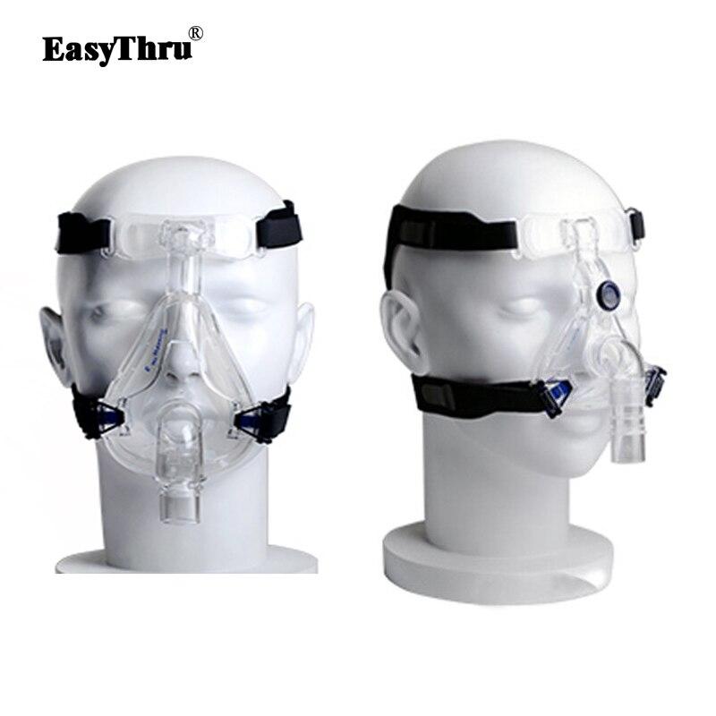 Universel Coiffures Confort Gel Plein Masque Pièce De Rechange CPAP Tête bande pour Respironics Resmed Resmart Sans Masque