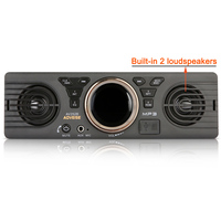 Universa 1 Din Car Radio MP3 Player Vehicle Auto In dash Audio Stereo Player 12V Bluetooth EDR AutoRadio Built in loudspeakers