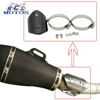 Sclmotos Carbon Fiber Color Motorcycle Exhaust Muffler Pipe Heat Shield Cover Guard Z800 TMAX530 S1000RR YZF