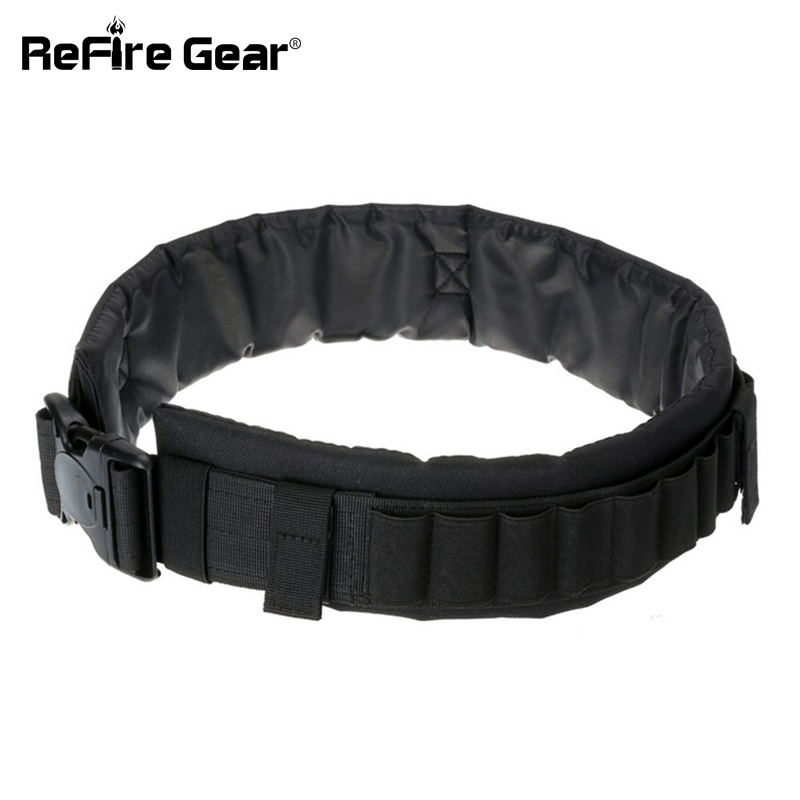 Intellective Molle Tactical Army Belt Men Soldier Combat Military Waistband Paintball Airsoft Shoot Bullet Camouflage Detachable Waist Belt Excellent In Cushion Effect Apparel Accessories