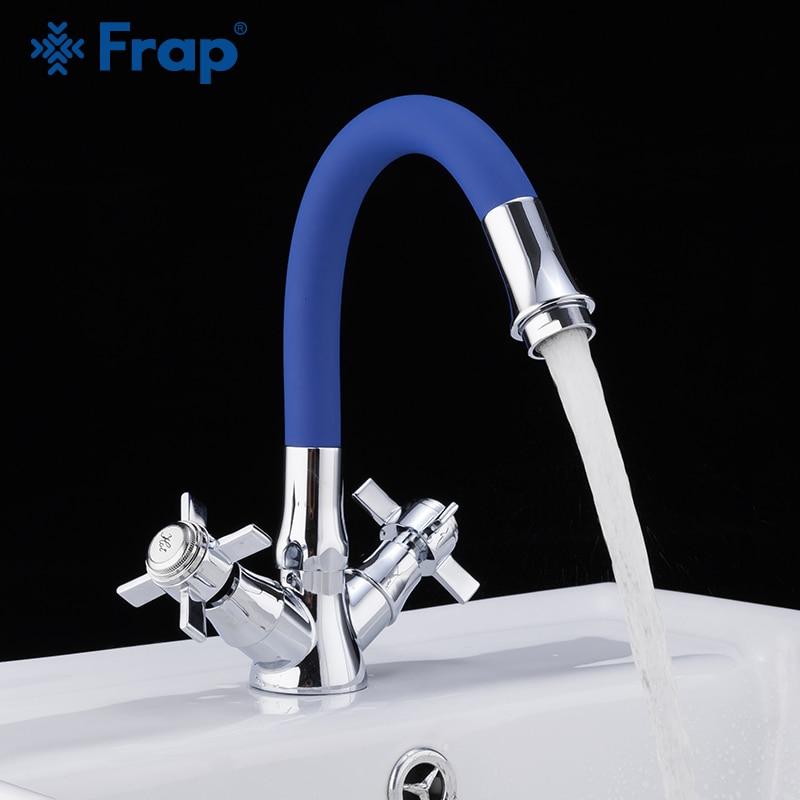 Frap Basin Faucet Zinc Alloy Deck Mounted Bath Taps Faucet Mixer Bathroom Sink Faucet  Water Sink Tap Torneira Do Anheiro F4424