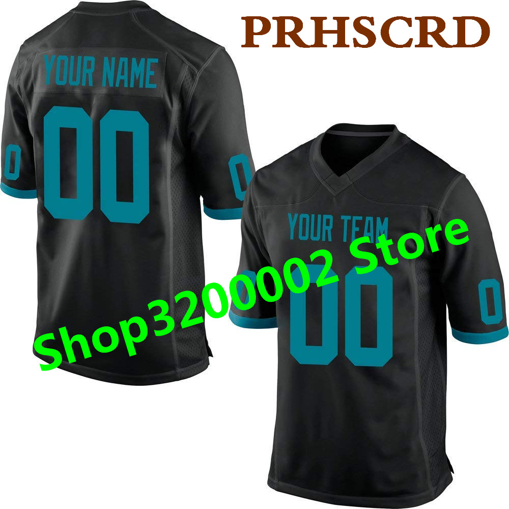 Customized Game Jersey Custom Any Name Any Number Stitched Cheap Black American football Jersey Top quality Game Jersey