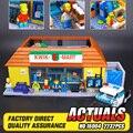 Nueva LEPIN 16004 2232 Unids los Simpsons Figuras de Acción Modelo de Bloques de Construcción Ladrillos Compatible 71016 regalo Del Muchacho