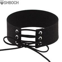 Колье, коренастый чокеры boho готический harajuku бархат колье шеи ожерелье изделия
