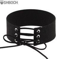 Lace up choker black velvet choker necklace women gothic chokers 2016 neck boho jewelry harajuku big.jpg 200x200